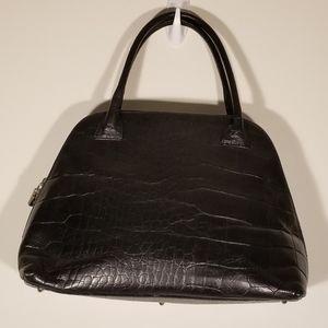 Furla  Croc Embossed Bag